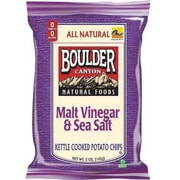 Boulder Canyon™ Kettle Chips, 2 oz. Bag, Malt Vinegar & Sea Salt (BOULDERVS8)