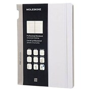 "Moleskine Professional Notebook 9.75"" x 7.5"" Hard Cover Grey (891386)"
