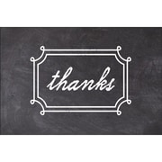 Gartner® Chalk Floral Wreath Thank You Invitation, 10/Pack (19455)