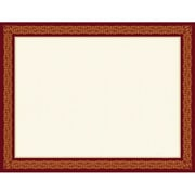 "Geographics® Premium Graduation Award Certificate, 8 1/2"" x 11"", Burgundy/Gold Foil, 15/Pack (48671)"