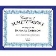 "Geographics® Premium Graduation Certificate Holder, 9 1/2"" x 12"", Navy Blue, 10/Pack (47835)"