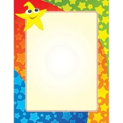 "Geographics® Premium Graduation Letterhead, 8 1/2"" x 11"", Star Guy/Gold, 40/Pack (49711)"
