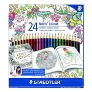 Staedtler® Noris® Johanna Basford Edition Colored Pencil, 24/Pack (185 C24JB)