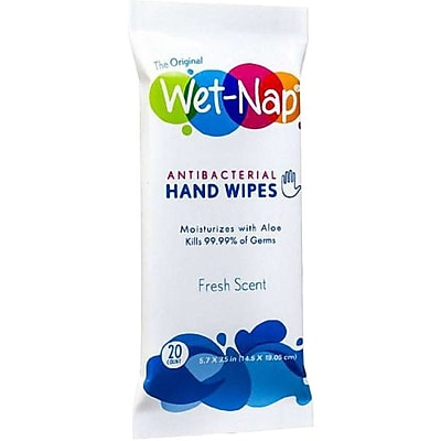Wet Nap Fresh The Original Anti Bacterial Wipes Travel Pack P17080