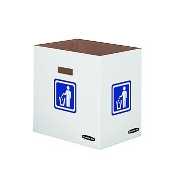 Bankers BoxMD – Bac de déchets et de recyclage, 50 gallons, 10/paquet