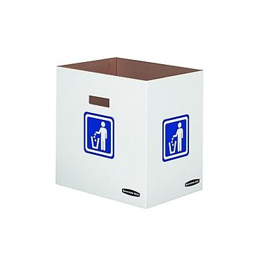 Bankers BoxMD – Couvercle pour déchets, recyclage, bouteilles ou cannettes, 10/paquet