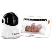 LevanaMD WillowMC – Moniteur vidéo à écran tactile panoramique/inclinaison/zoom de 5 po pour bébé, (32201)