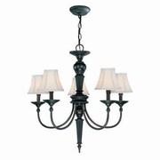 Aurora Lighting 5-Light Incandescent Chandelier - Dark Bronze (STL-LTR493990)