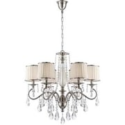 Aurora Lighting 6-Light Incandescent Chandelier - Polished Chrome (STL-LTR496533)