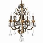 Aurora Lighting 5-Light Incandescent Chandelier - Antique Bronze (STL-LTR490289)