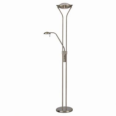 Aurora lighting 11 light halogen floor lamp antique for Staples halogen floor lamp