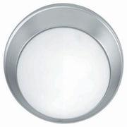 Aurora Lighting 2-Light Incandescent Flush Mount - Satin Steel (STL-LTR407058)