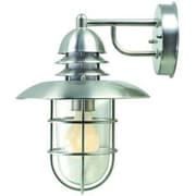 Aurora Lighting 1-Light Incandescent Outdoor Wall Sconce - Stainless Steel (STL-LTR415077)