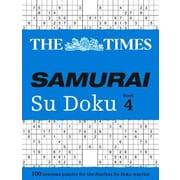 The Times Samurai Su Doku Book 4, Paperback (9780008136406)