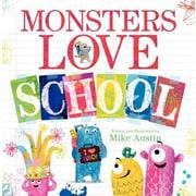 Monsters Love School, Hardcover (9780062286185)