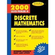 2000 Solved Problems in Discrete Mathematics, Paperback (9780070380318)
