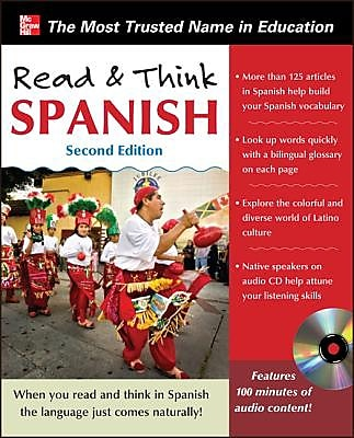 Read & Think Spanish [With CD (Audio)], 0002, Paperback (9780071797573) 2279674