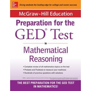 McGraw-Hill Education Strategies for the GED Test in Mathematical Reasoning, 0002, Paperback (9780071840385)