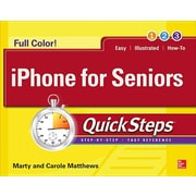 iPhone for Seniors Quicksteps, Paperback (9780071843997)