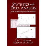 Statistics and Data Analysis: From Elementary to Intermediate [With Disk], 0002, Paperback (9780137444267)