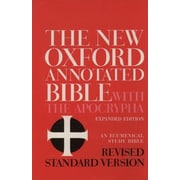 New Oxford Annotated Bible-RSV, Hardcover (9780195283488)