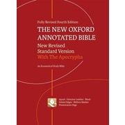 New Oxford Annotated Bible-NRSV, 0004, Hardcover (9780195289572)