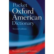 Pocket Oxford American Dictionary, 0002, Paperback (9780195301632)