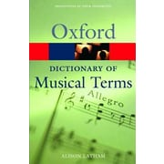 The Oxford Dictionary of Musical Terms, Paperback (9780198606987)