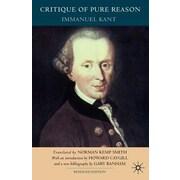 Critique of Pure Reason, Paperback (9780230013384)