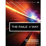 The Rails 4 Way, Paperback (9780321944276)