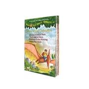 Magic Tree House #1-4, Paperback (9780375813658)