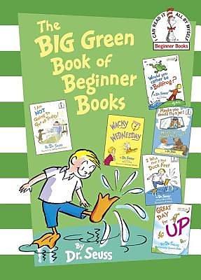 The Big Green Book of Beginner Books, Hardcover (9780375858079)