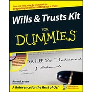 Wills & Trusts Kit for Dummies [With CDROM], Paperback (9780470283714)