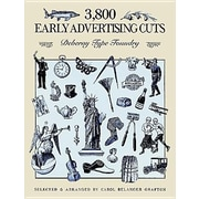 3,800 Early Advertising Cuts, Paperback (9780486266589)