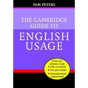 The Cambridge Guide to English Usage, Hardcover (9780521621816)