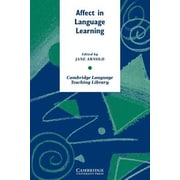 Affect in Language Learning, Paperback (9780521659635)