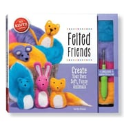 Felted Friends: Create Your Own Soft, Fuzzy Animals [With Felt, Felting Tool], Paperback (9780545647960)
