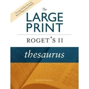 The Large Print Roget's II Thesaurus, Hardcover (9780618714865)