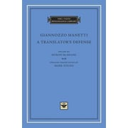 A Translator's Defense, Hardcover (9780674088658)