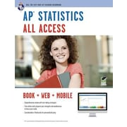 AP Statistics All Access [With Web Access], Paperback (9780738610580)