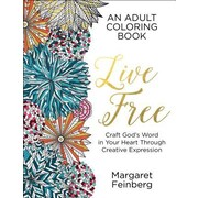 Live Free: An Adult Coloring Book, Paperback (9780764218637)