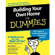 Building Your Own Home for Dummies, Paperback (9780764557095)