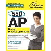 550 AP Biology Practice Questions, Paperback (9780804124881)