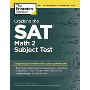 Cracking the SAT Math 2 Subject Test, Paperback (9780804125604)