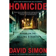Homicide: A Year on the Killing Streets, Paperback (9780805080759)