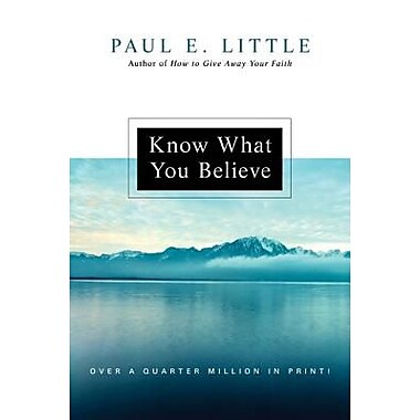 """a critique of the book know why you believe by paul e little """"in the case of good books, the point is not to see how many of them you can get through, but rather how many can get through to you"""" ― mortimer j adler."""