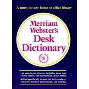 Merriam-Webster's Desk Dictionary, Hardcover (9780877795490)