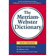 The Merriam-Webster Dictionary, Paperback (9780877796367)