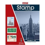2016 Scott Catalogue Volume 4 (Countries J-M): Standard Postage Stamp Catalogue, Paperback (9780894875014)