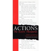Actions: The Actors' Thesaurus, Paperback (9780896762527)